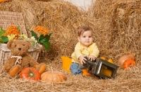 детский фотосессии, пример фотографии детской фотосесии 2