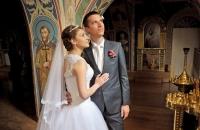 Пример фотографии с венчания в Киеве