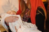 Крещение ребенка (крестины) в Выдубицком монастыре