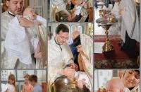 Крещение ребенка в Андреевской церкве