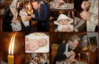 Крещение в церкви Бориса и Глеба в Вышгороде
