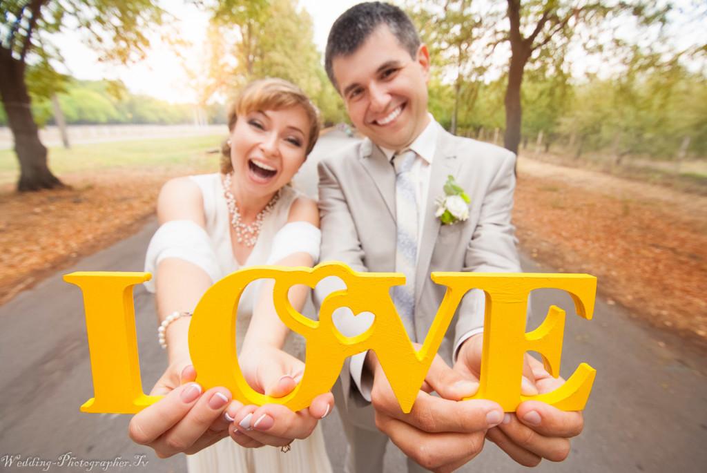 Фотография со свадебной прогулки