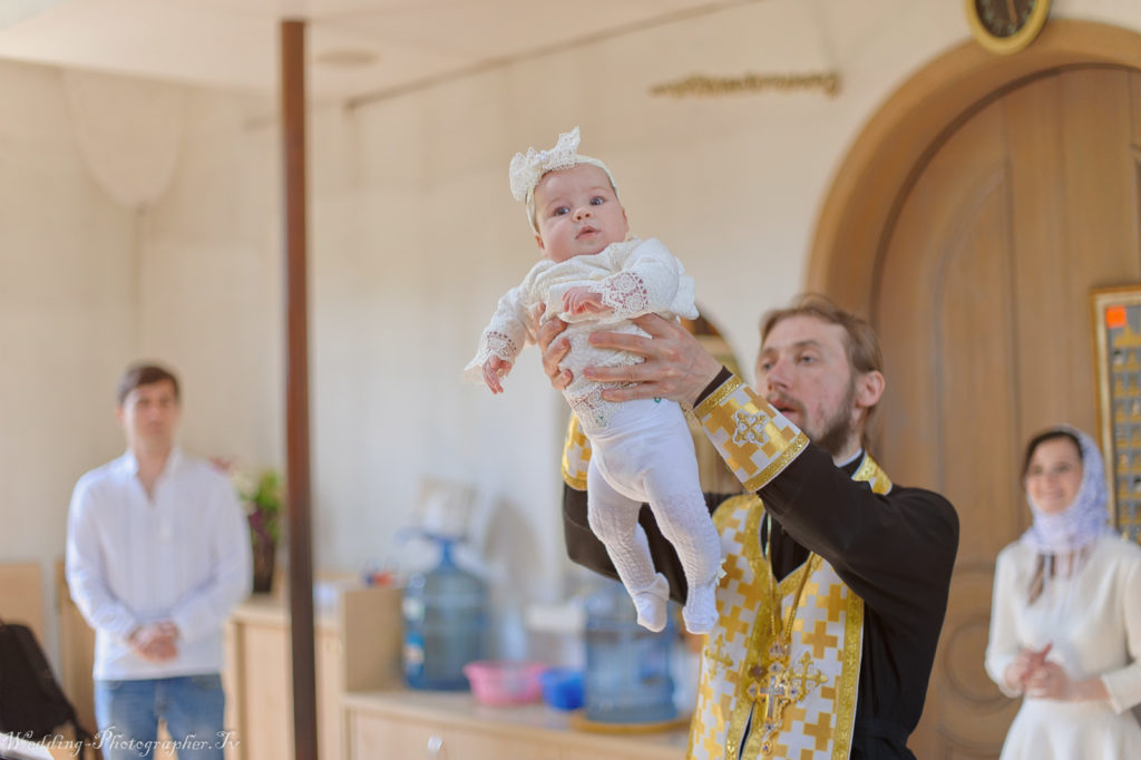 Крещение в Храме святителя Спиридона Тримифунтского