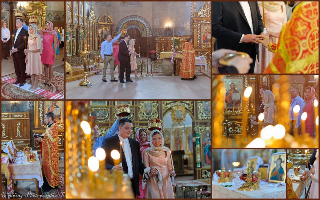 Венчание в церкве на Хорыва