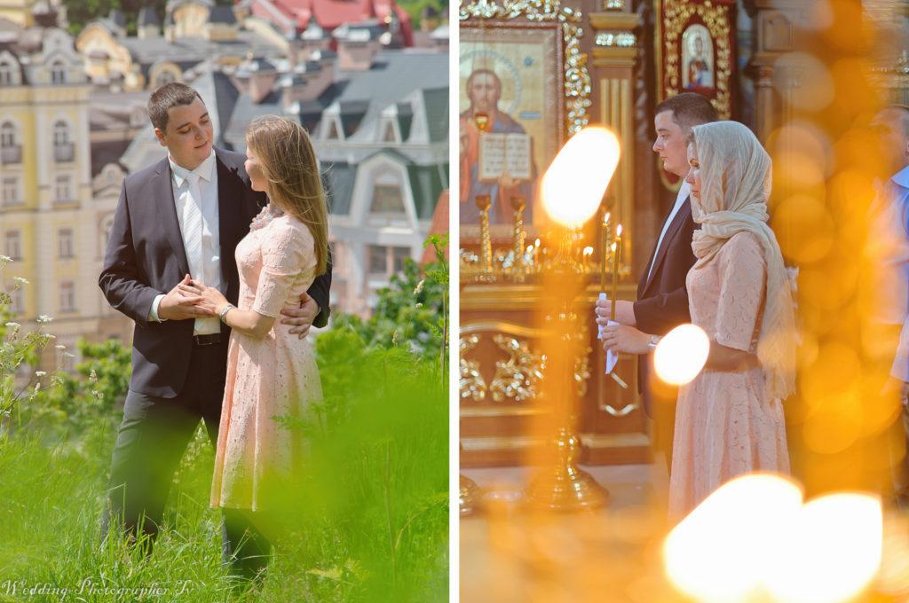 венчание и фотосессия