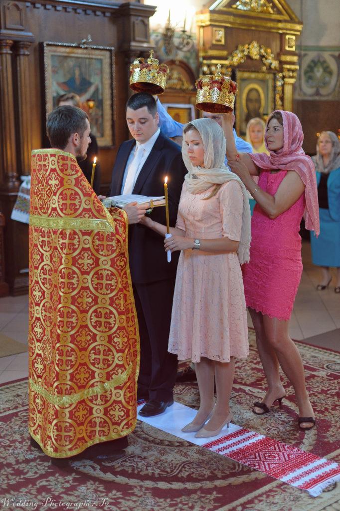 венчание в храме на Подоле