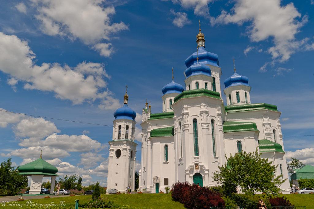 Свято-Троицкий Храм на Троещине, г. Киев