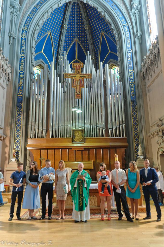 Крещение в Николаевском костеле