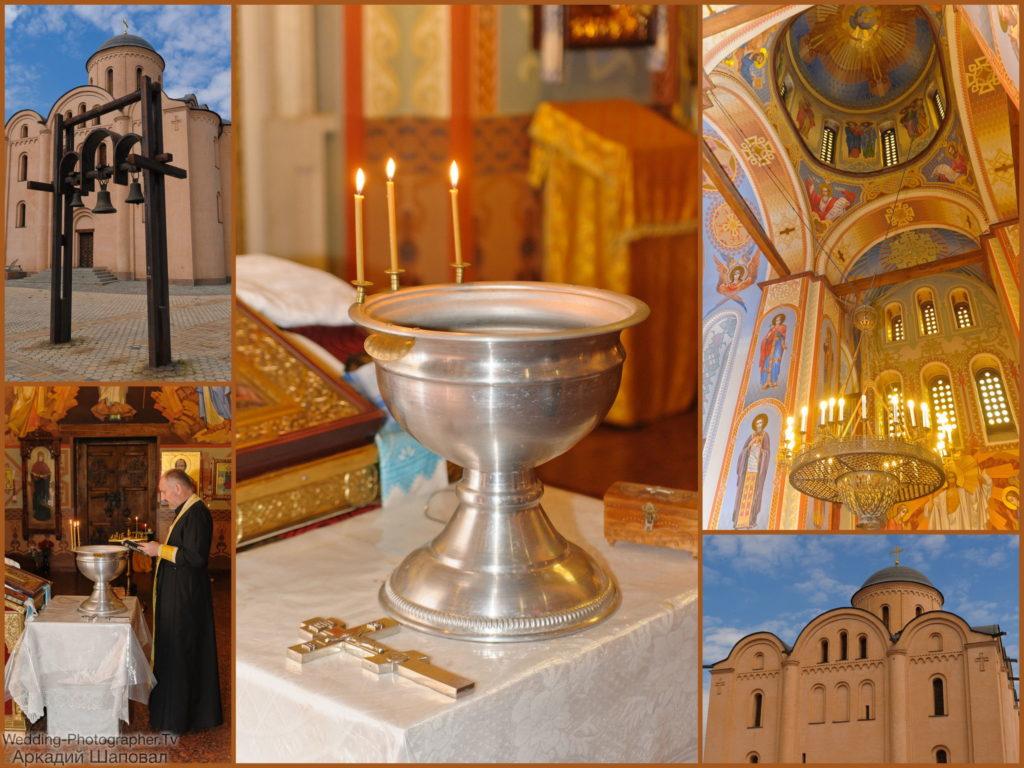 Крещение. Храм Успения Богородицы Пирогощи