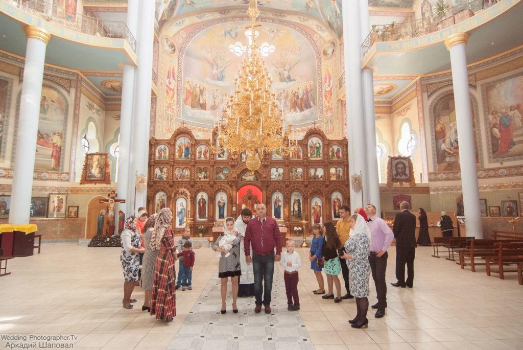 Крестины в храме равноапостольной княгини Ольги (на Харьковской)