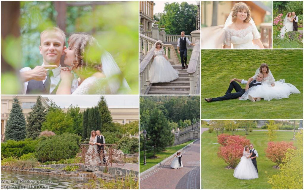Фотосессия свадебная в Межигорье