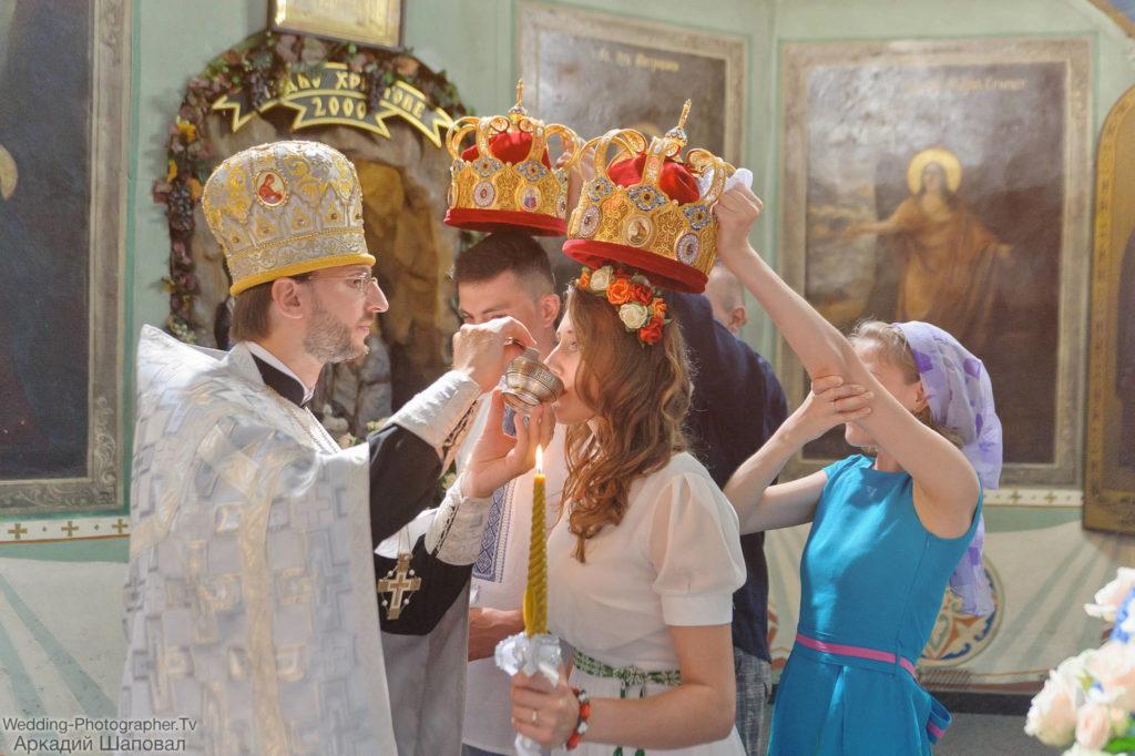 Венчание в Свято-Ильинской церкови