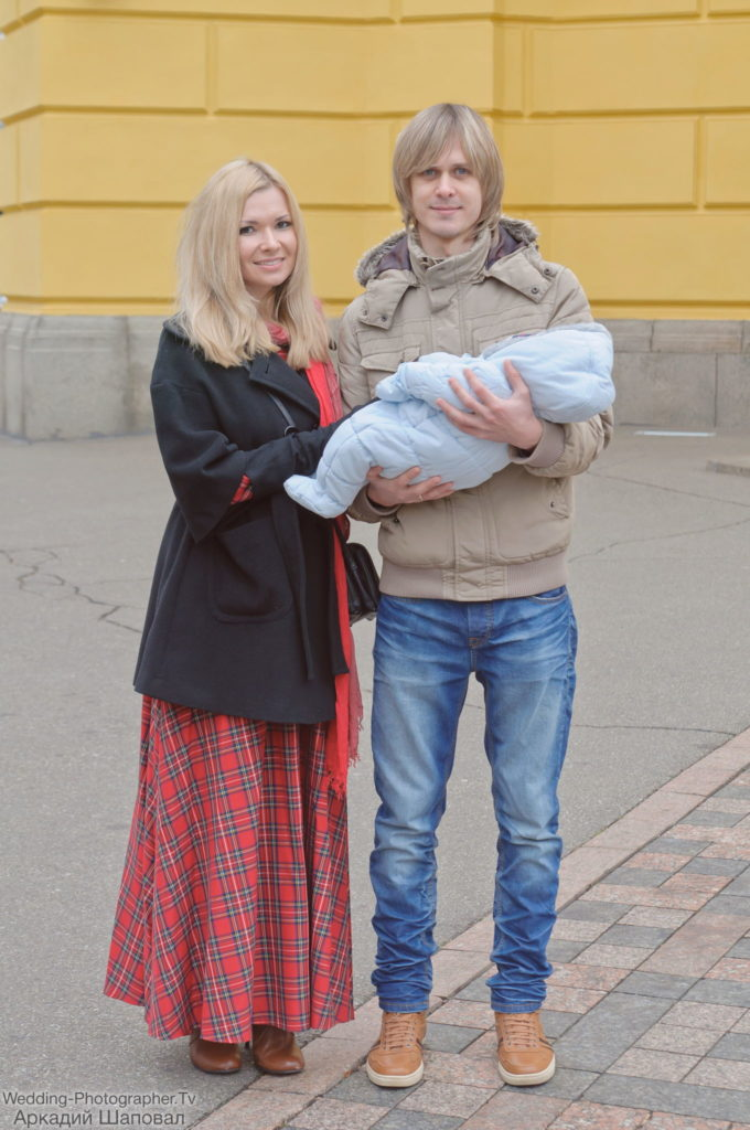 Крещение ребенка, Владимирский собор Киев