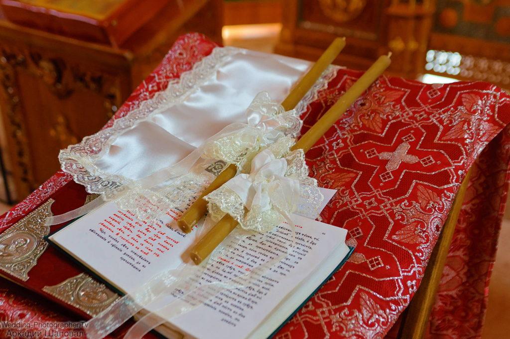 Венчание в храме Покрова Божией Матери в Гатном