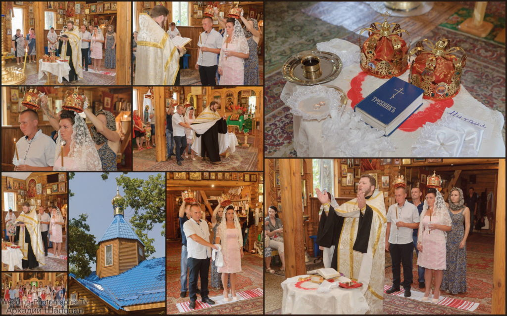 Венчание в храме Владимирской иконы Божией Матери (на Виноградаре)