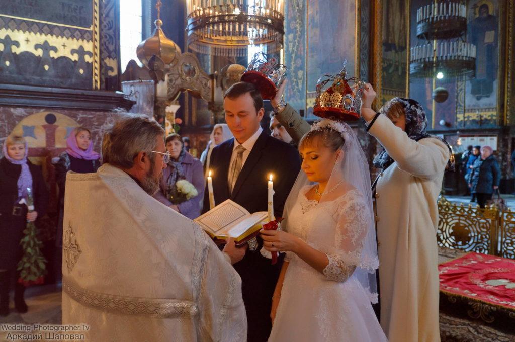 Венчание во Владимирском соборе