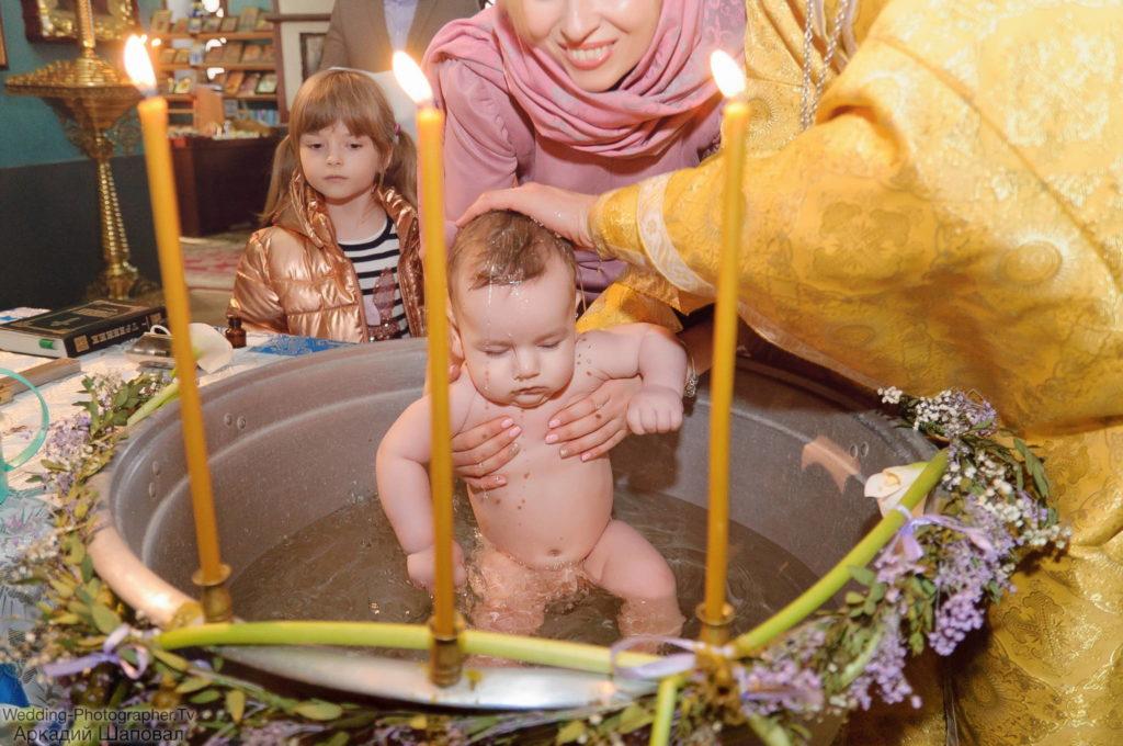 крещение в Михайловском соборе