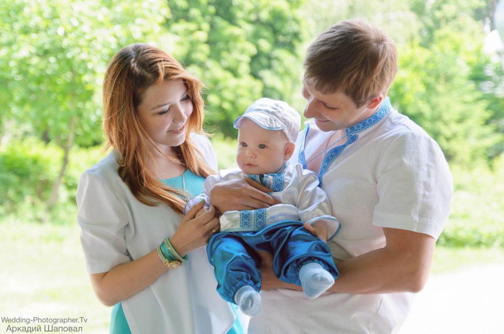 Фотоотчет с крещения ребенка