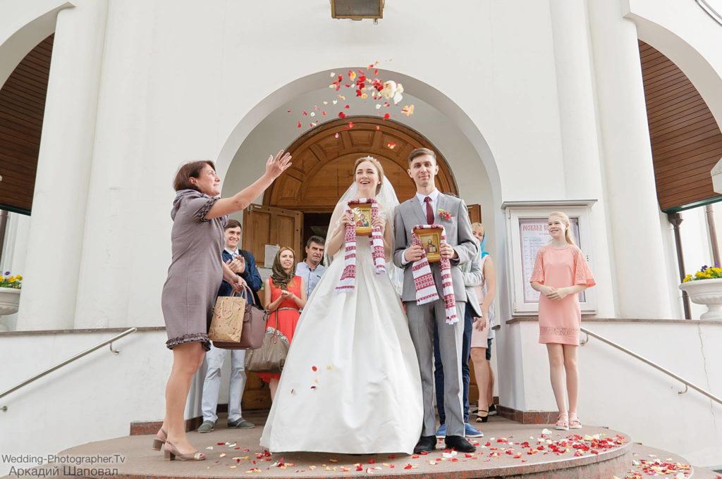 Венчание в Свято-Ольгинской церкви