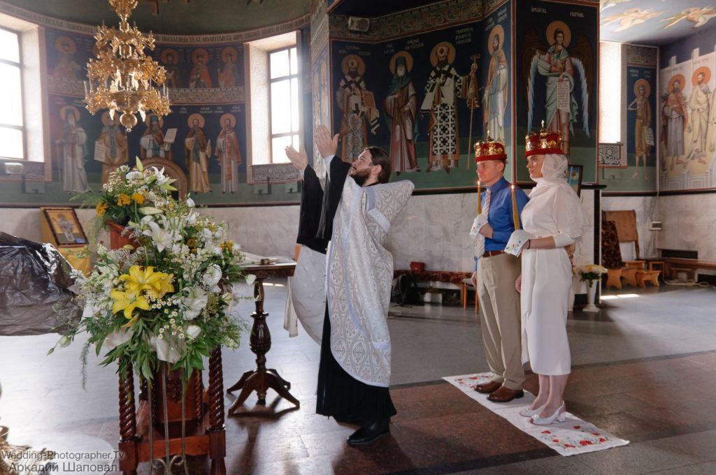 Венчание Голосеевской пустыни (Свято-Покровский мужской монастырь)