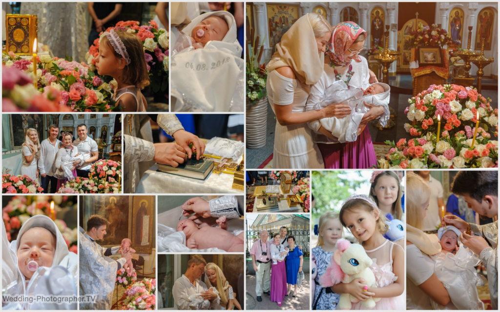 Крещение ребенка в Ильинской церкви (основной храм)