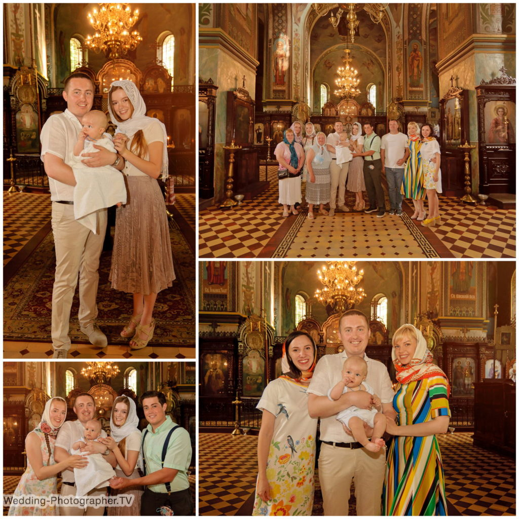 Крещение в церкови Покрова Пресвятой Богородицы на Приорке
